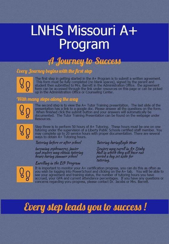 Missouri A+ Program / LNHS A+ Information