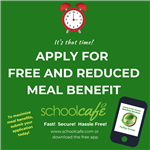Free and Reduced Meal Benefit Image