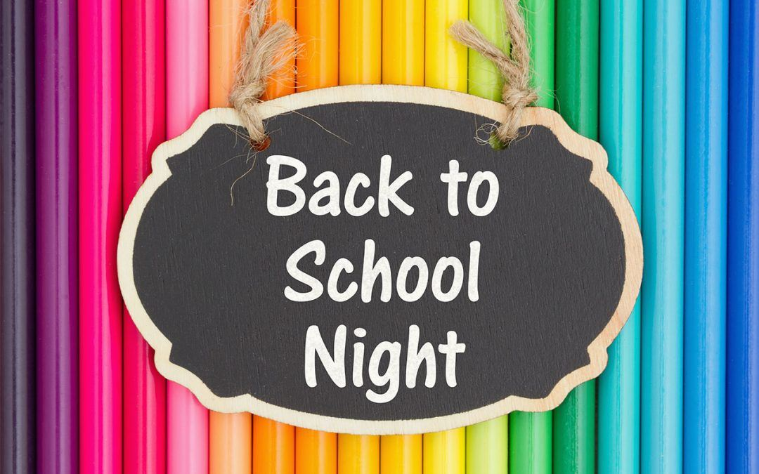 DMS Back to School Night- Tues. Aug. 21st