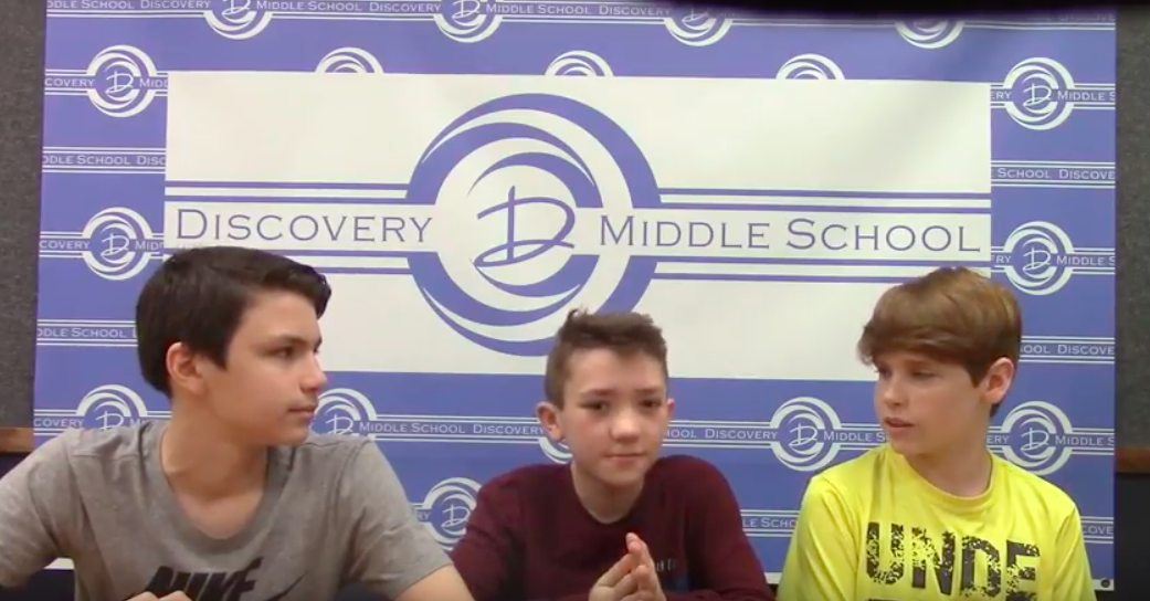 Discovery Middle School Broadcast #32 - May 18, 2018