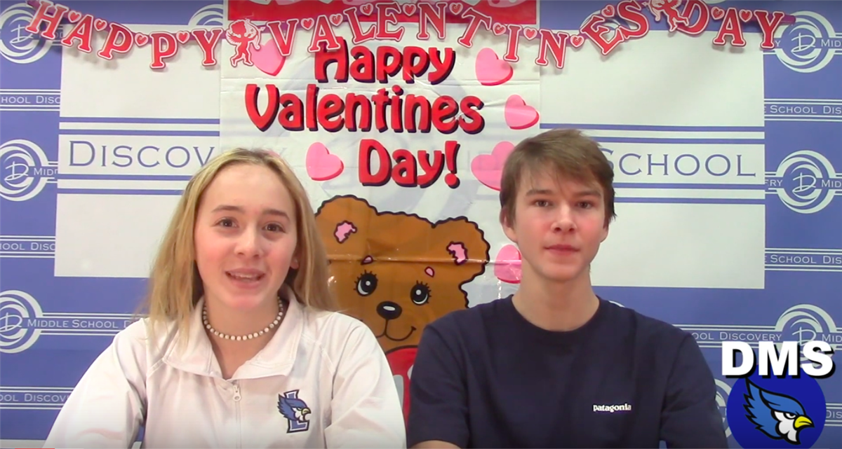 Discovery Middle School Broadcast #22 - February 13, 2019