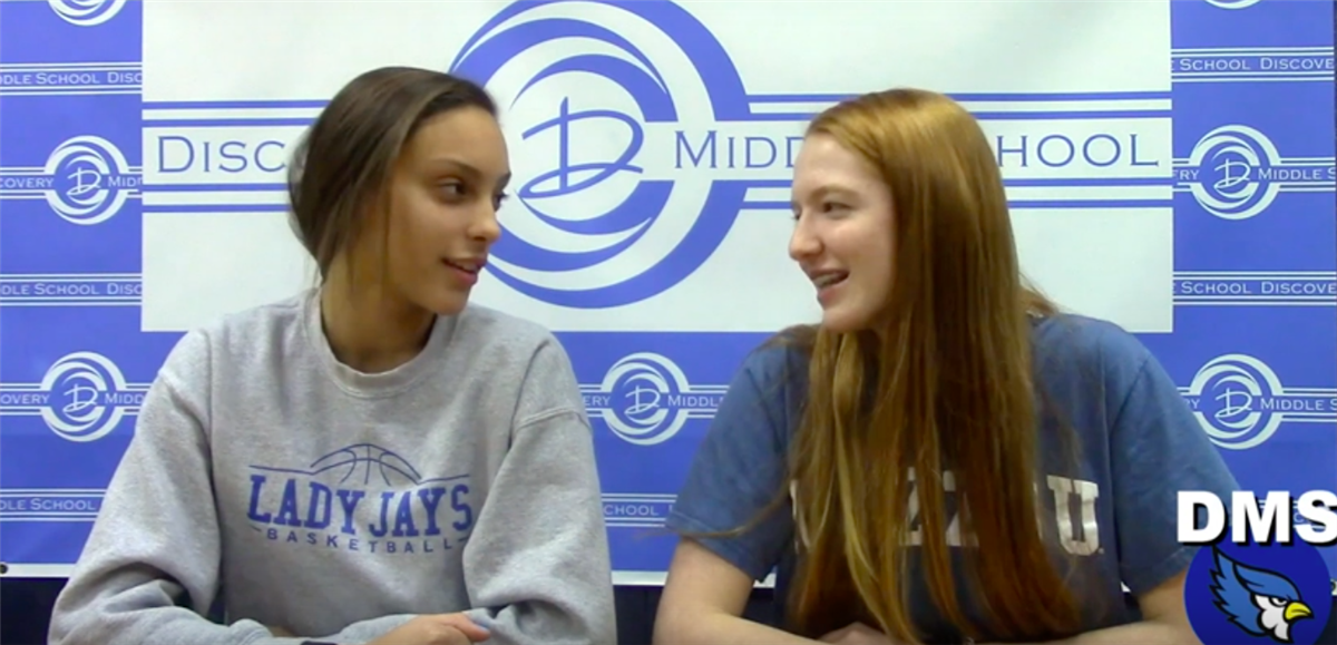 Discovery Middle School Broadcast #23 - February 22, 2019