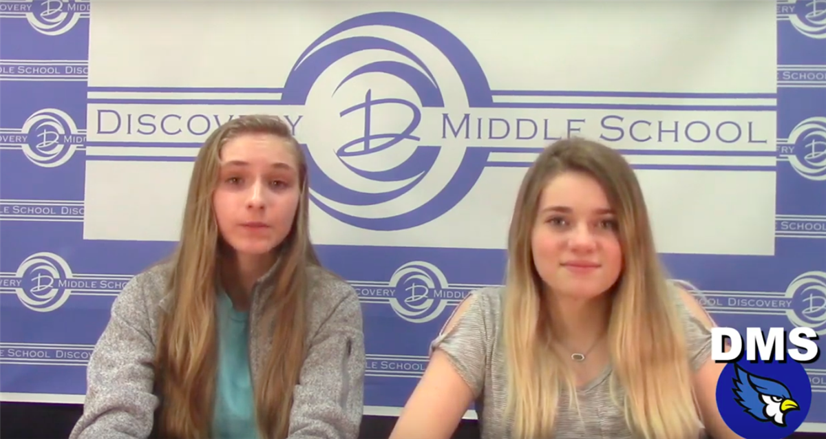 Discovery Middle School Broadcast #26 - March 13, 2019