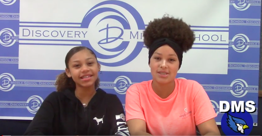 Discovery Middle School Broadcast #35 - May 24, 2019