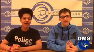 Discovery Middle School Broadcast #30 - April 17, 2019
