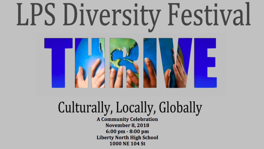 Diversity festival graphic info posted above