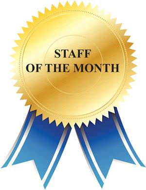 Staff of month
