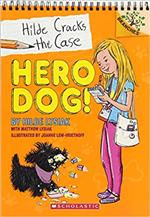 Book cover for Hero Dog! Hilde Cracks the Case, Book 1