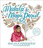 Book cover for Malala's Magic Pencil