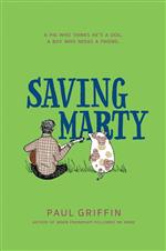 Book cover for Saving Marty