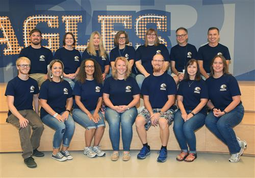 Science department staff photo