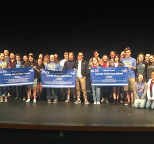 LPS Students Bring Home Hardware from Blue Star Awards