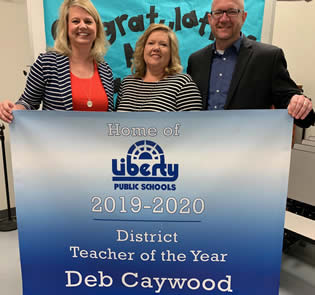 Deb Caywood Teacher of the Year