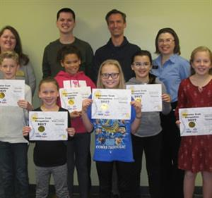 Students Recognized at Character Trait Luncheon