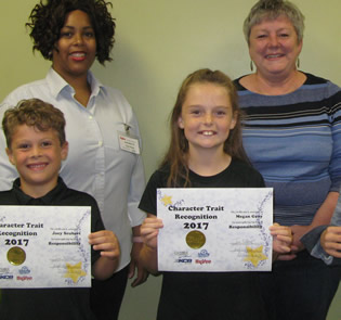 October Character Trait Recipients Announced