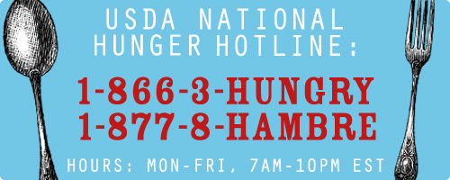 National Hunger Hotline