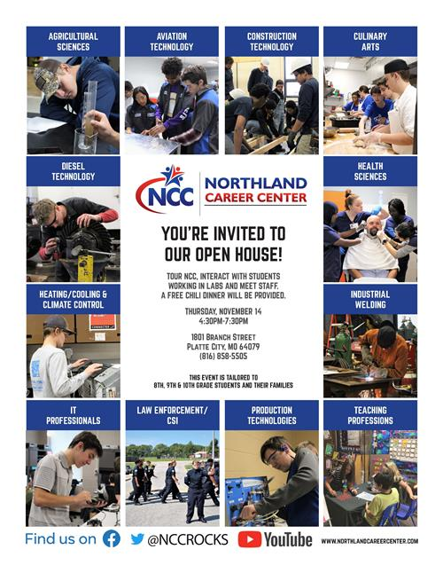 NCC Open House