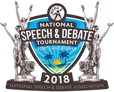 2018 National Speech & Debate Association Tournament