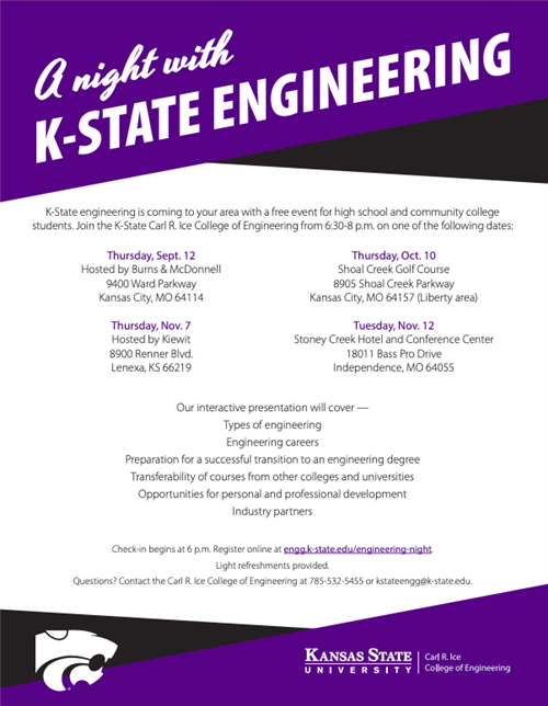 A night with K-State Engineering