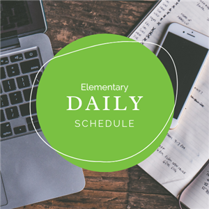 Click here for Elementary Daily Schedules