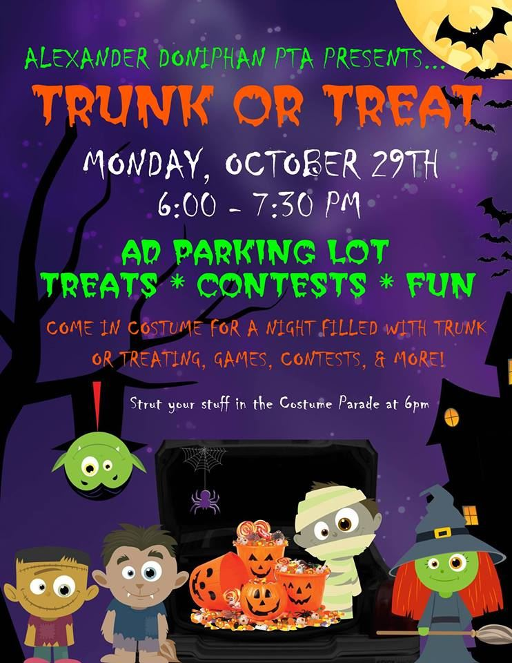 Costume Parade at 6:00pm. Stick around for games, fun and contests!